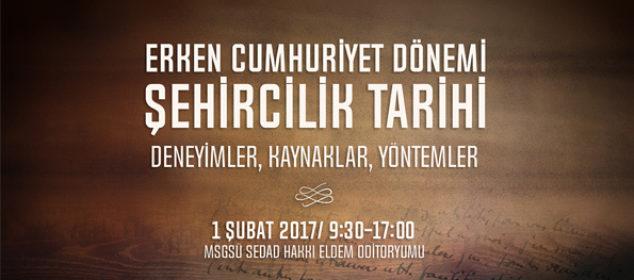 şehircilik tarihi semineri, msgsü şehircilik tarihi semineri