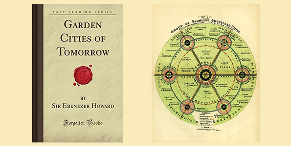 ebenezer howard eserleri, ebenezer howard kitapları