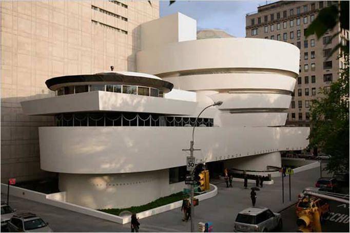 Frank Lloyd Wright-Frank Lloyd Wright eserleri- Frank Lloyd Wright kent modeli- mimar-müze-Guggennheim