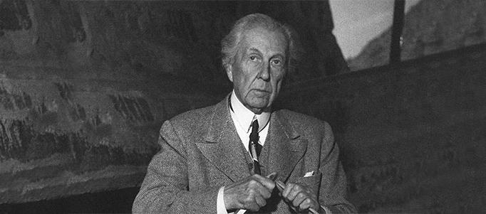 Frank Lloyd Wright-Frank Lloyd Wright eserleri- Frank Lloyd Wright kent modeli- mimar