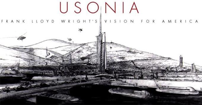 Frank Lloyd Wright-Frank Lloyd Wright eserleri- Frank Lloyd Wright kent modeli- mimar-Usonia Homes