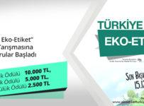 eko-etiket logo yarışması